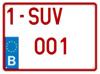 gepersonaliseerde-suv-nummerplaat