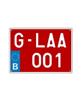 g-plaat-moto-voorbeeld