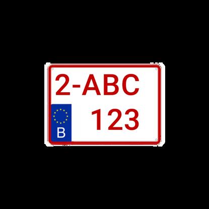 jeep-suv-nummerplaat-image