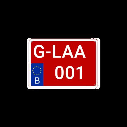 Image de Plaque G moto